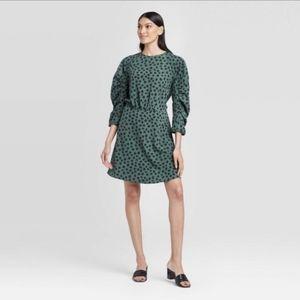 Whowhatwear Polka Dot Dress